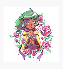 Harpy Gee, Gold Rose Photographic Print