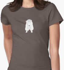 Mountain Goat Women's Fitted T-Shirt