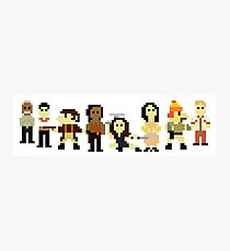 Firefly pixels Photographic Print