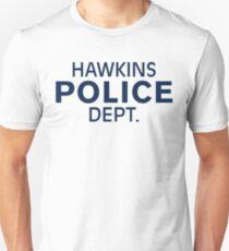 Hawkins Indiana Police Dept. Slim Fit T-Shirt