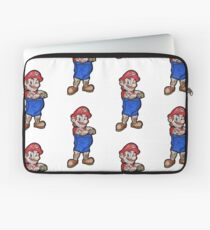 Tattooed Mario Laptop Sleeve