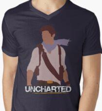 Uncharted - Minimalist Art Men's V-Neck T-Shirt