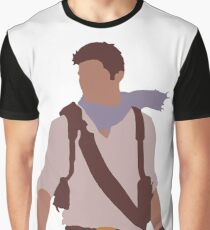 Uncharted - Minimalist Art Graphic T-Shirt