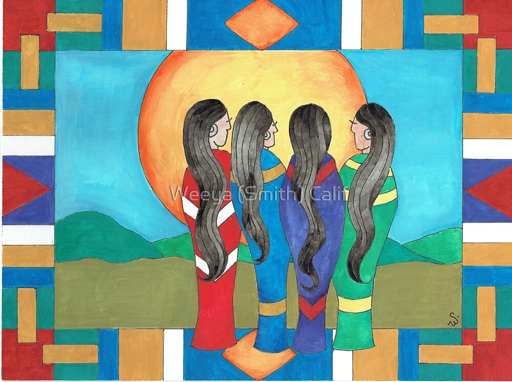 Directions -The Sisters by Weeya Michelle Smith