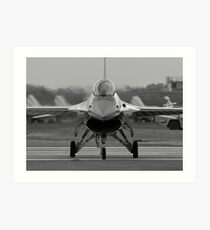 General Dynamics F-16 Fighting Falcon Art Print
