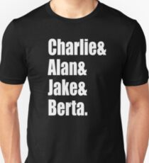 Two And A Half Men Cast T-Shirt