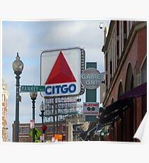 Citgo Sign At Fenway Park Poster