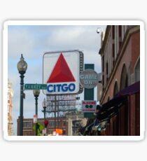 Citgo Sign At Fenway Park Sticker