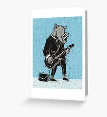 Corporate Rock Greeting Card