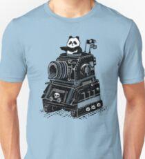 Panda's Skull Tank Vintage Style Unisex T-Shirt