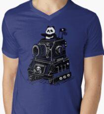 Panda's Skull Tank Vintage Style T-Shirt