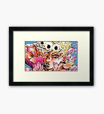 Giorno Giovanna - Golden Wind Framed Print