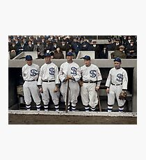 Chicago White Sox - 1917 Photographic Print