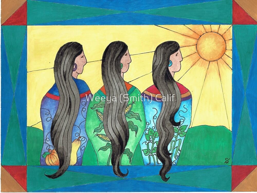Three Sisters III by Weeya Michelle Smith