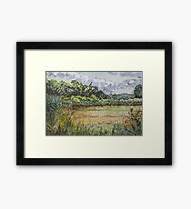 Hammonasset Marsh No. 2 Framed Print
