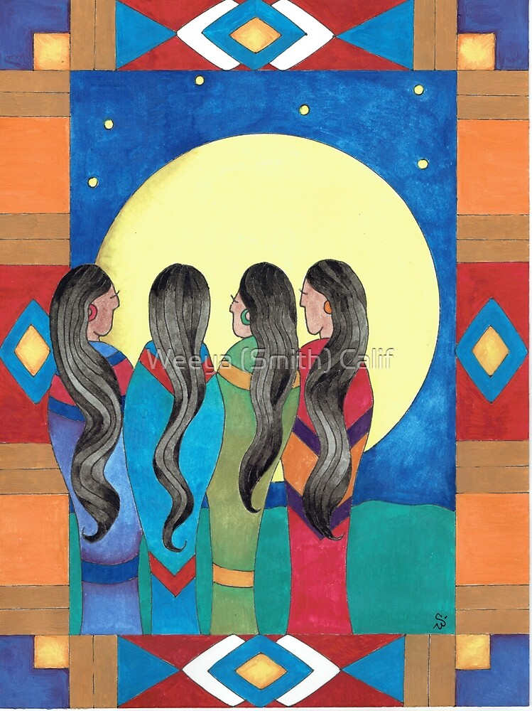 The Four by Weeya (Smith) Calif