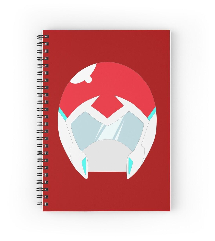 Voltron legendary defender keith spiral notebooks by voltron legendary defender keith by abominableve biocorpaavc