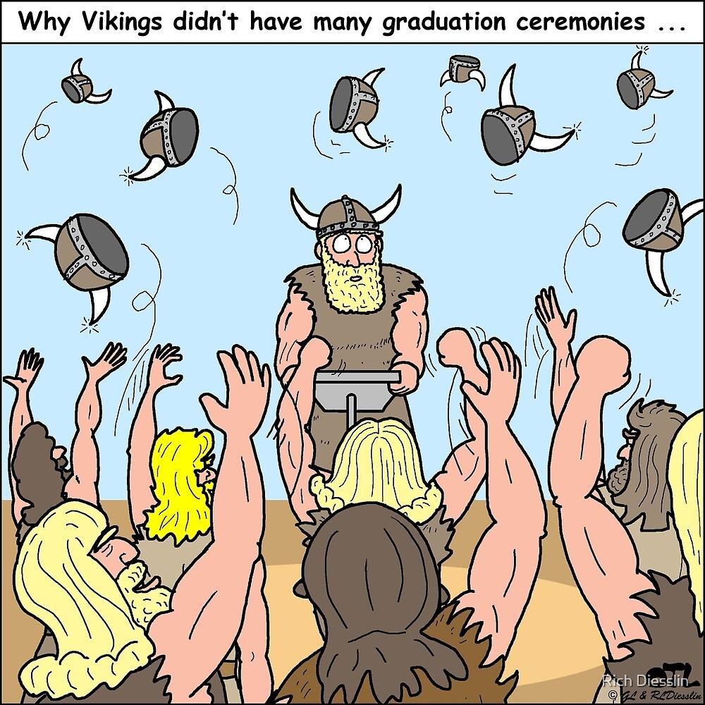 Viking Graduations by Rich Diesslin