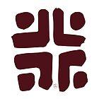 Maroon Coloured Kra Symbol by maroondawta