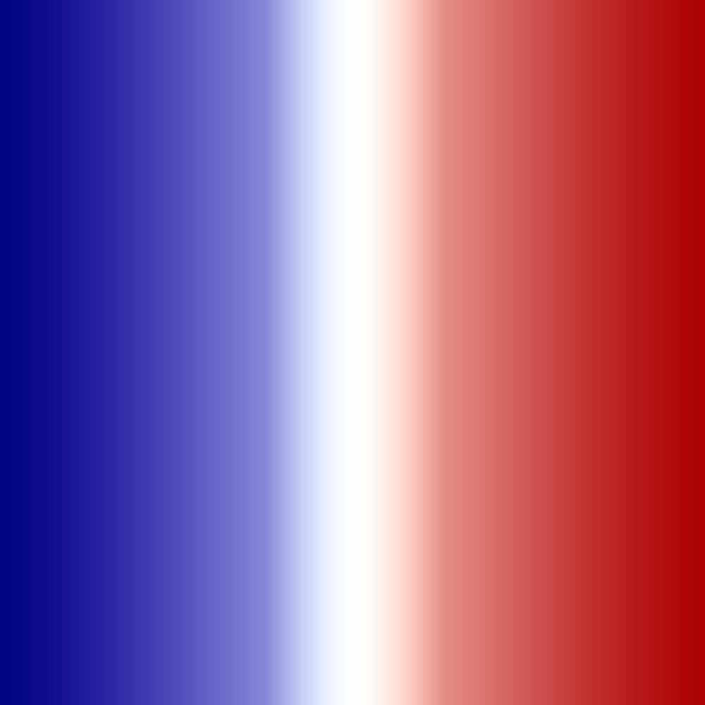 french flag gradient