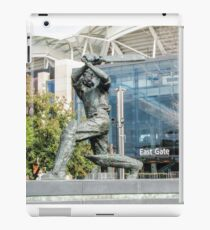 Don Bradman - Statue - Adelaide Oval iPad Case/Skin