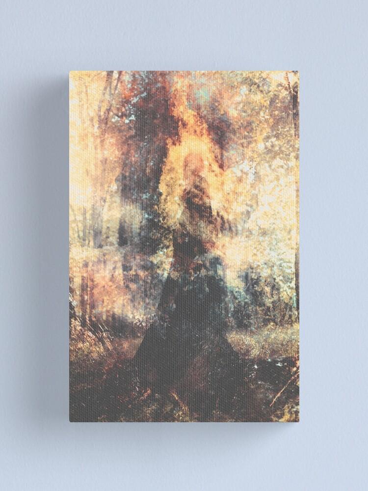Alternate view of Dans Le Sillage Du Soleil Canvas Print