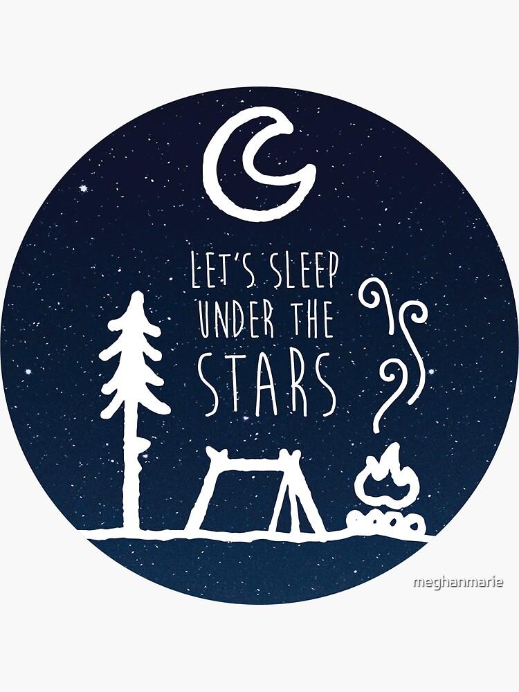 Lässt schlafen unter den Sternen von meghanmarie
