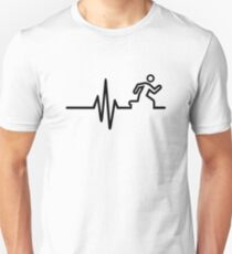 Runner frequency Unisex T-Shirt