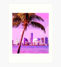 Miami Kunstdruck