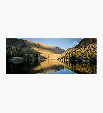 Sunset at Willow Lake - Sangre de Cristo Wilderness, Colorado Photographic Print