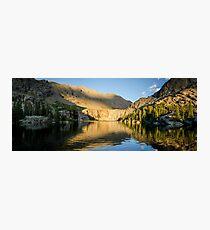 Sunset at Willow Lake - Sangre de Cristo Wilderness, Colorado Photographic Print