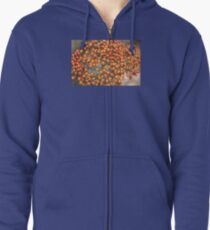 Flowers Tiny Tiny Zipped Hoodie