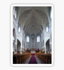 St. Benard Church, Nova Scotia Sticker