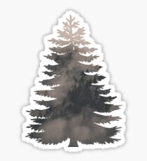 Foggy Pine Sticker