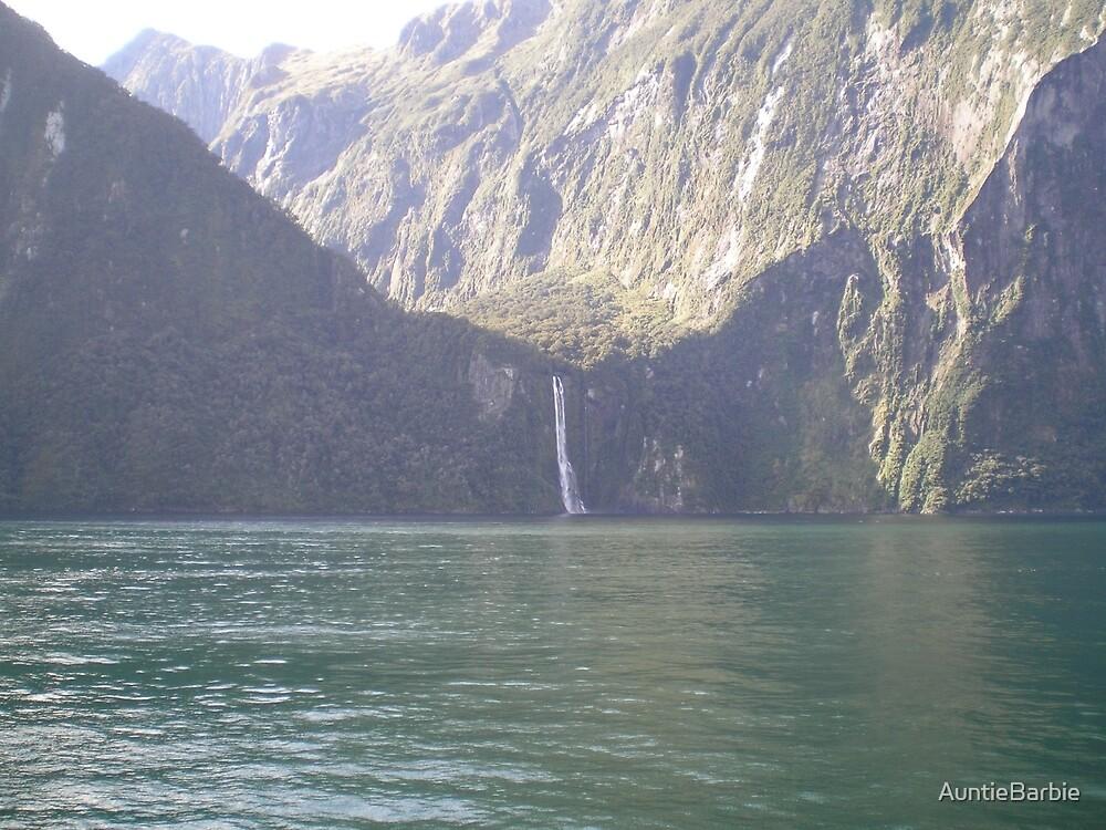 Milford Sound< New Zealand by AuntieBarbie