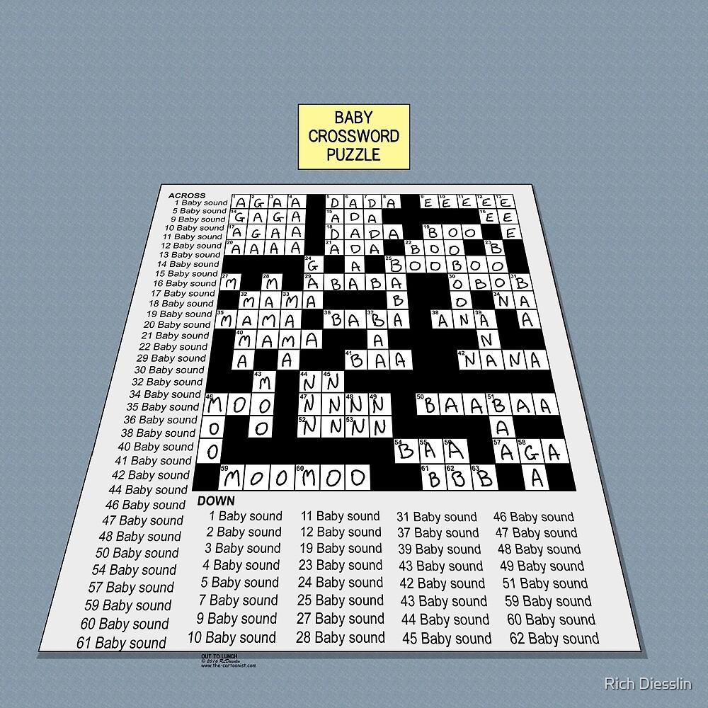 Baby Crossword Puzzle by Rich Diesslin