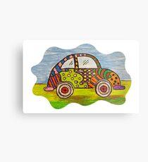 VW Punch Buggy Vroom Vroom Metal Print