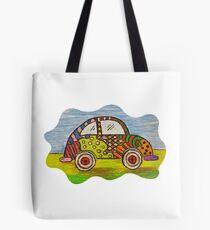 VW Punch Buggy Vroom Vroom Tote Bag
