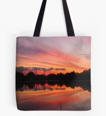 Lagoon Sunset Tote Bag