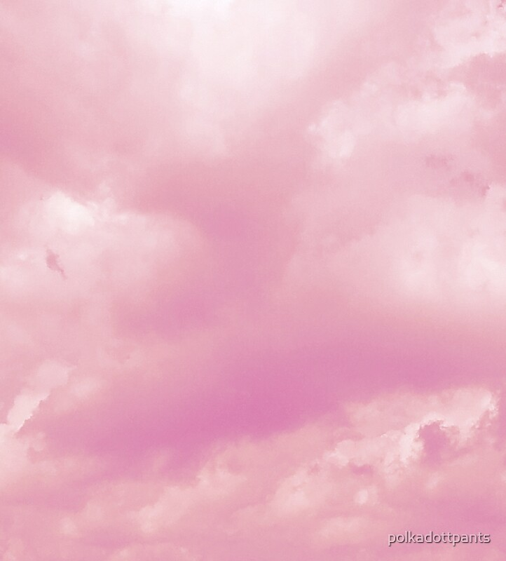 Quot Pastel Pink Aesthetic Clouds Nature Quot By Polkadottpants