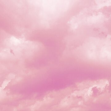 Pastel Pink Aesthetic Clouds Nature by polkadottpants