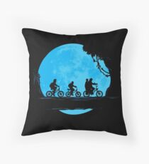 Stranger Moonride Throw Pillow