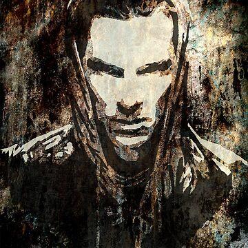 Benedict Cumberbatch - Khan (grunge) by Joey27
