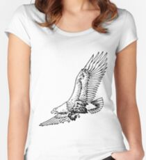 Soaring Eagle Women's Fitted Scoop T-Shirt