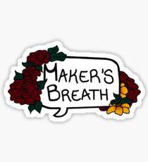 Maker's Breath Sticker