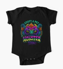 Adopt a Pet Monster One Piece - Short Sleeve