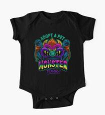 Adopt a Pet Monster One Piece - Short Sleeve