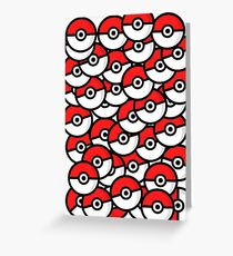 N'oublie pas tes POKÉBALL Greeting Card
