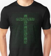 Binary Code Cross T-Shirt