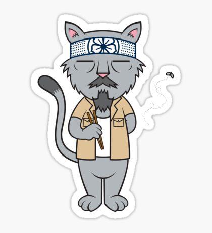 Mr.Meowgi Sticker